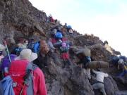 Climbing the Barranco Wall